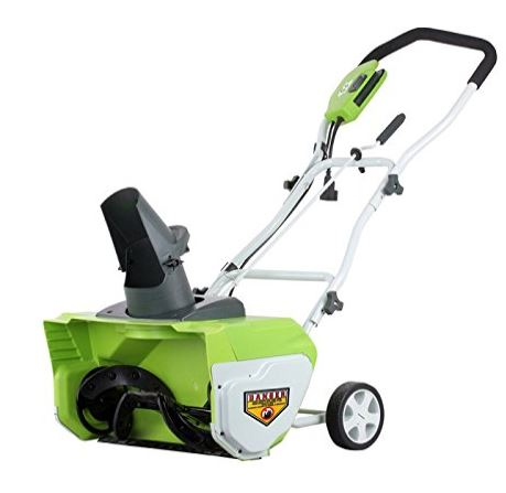Greenworks 20 Inch 12 Amp Corded Snow Thrower