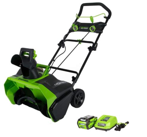 Greenworks 20 Inch 40 V Cordless Snow Thrower