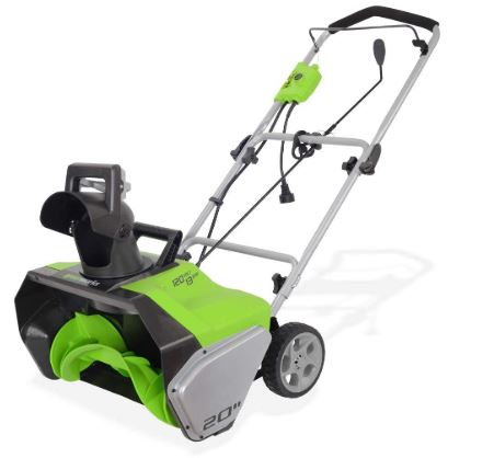 Greenworks Amp Corded Snow Thrower