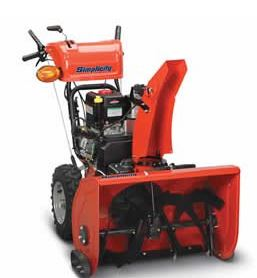 Simplicity 250 cc Heavy Duty Two Stage Snow Blower