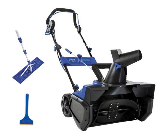 Snow Joe 21 Ultra Electric Snow Thrower Bonus Ice Scraper