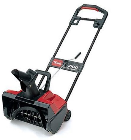 Toro 1800 12 Amp Electric Curve Snow Thrower