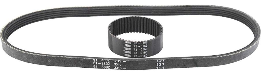 Toro 1800 Power Curve Snowblower Belt Set