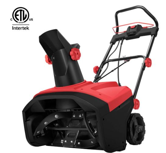 Vivohome Heavy Duty Waterproof Corded Power Electric Snow Blower