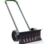 Vertex Heavy Duty Bi Directional Rolling Easy Flip Snow Shovel