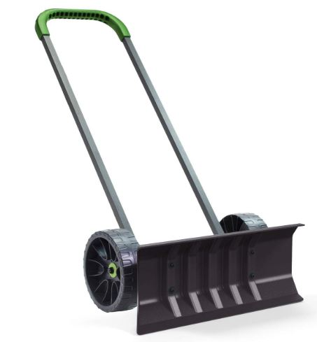 Vertex Heavy Duty Bi Directional Rolling Easy Flip Snow Shovel