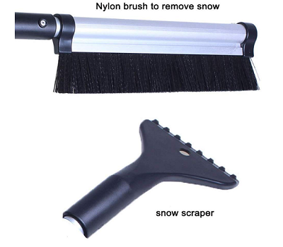 Road Snow Broom
