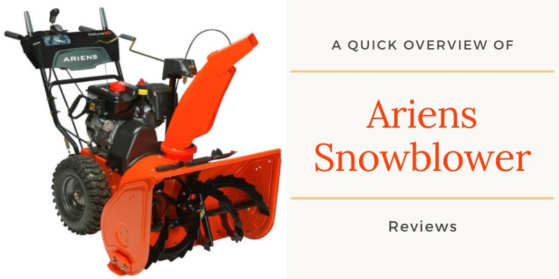 5 Ariens Snow Blowers